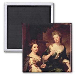 Sarah, duquesa de jugar de Marlborough Imán Cuadrado