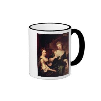 Sarah, duquesa de jugar de Marlborough Tazas De Café