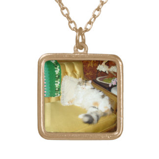 SARAH GOLD PLATED NECKLACE