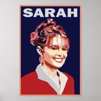 Sarah grande Palin Póster