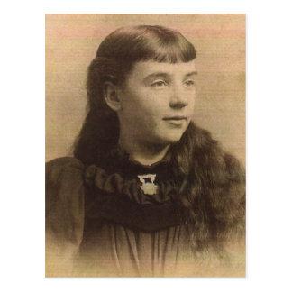 "Sarah Inés ""Sallie"" (WALTEMEYER) ANDERSON Ca 1895 Postales"