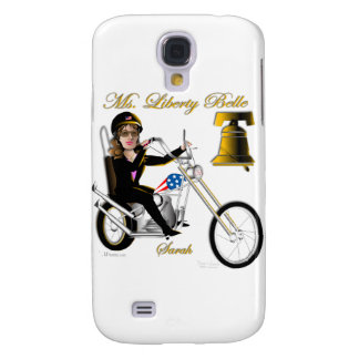 Sarah Liberty Belle Line Galaxy S4 Cases
