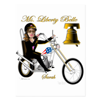 Sarah Liberty Belle Line Post Card
