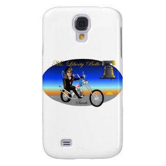 Sarah Liberty Belle Oval Galaxy S4 Case
