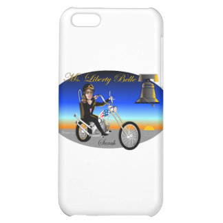 Sarah Liberty Belle Oval iPhone 5C Cases