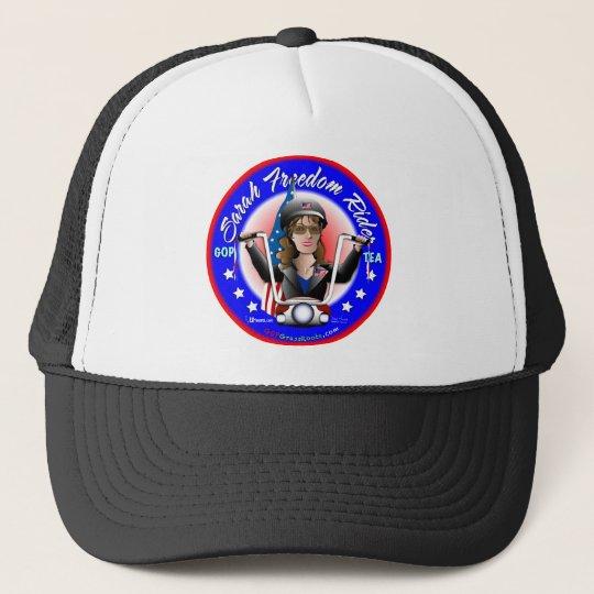 Sarah Liberty Rider Trucker Hat