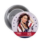 Sarah libre Palin Pins
