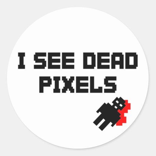 Sarah Marshall Dead Pixels Sticker