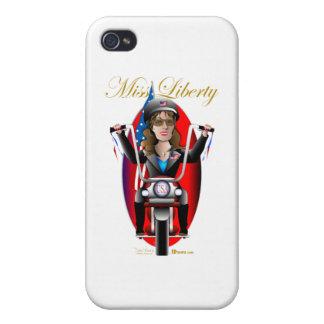 Sarah Miss Liberty Case For iPhone 4