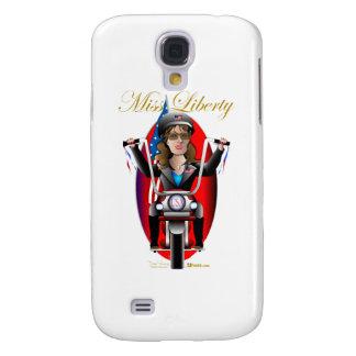 Sarah Miss Liberty Galaxy S4 Cases