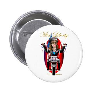 Sarah Miss Liberty Pin