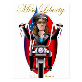 Sarah Miss Liberty Postcard