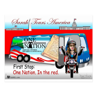 Sarah One Nation Postcard