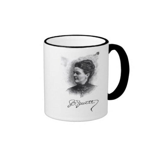 Sarah Orne Jewett Ringer Coffee Mug