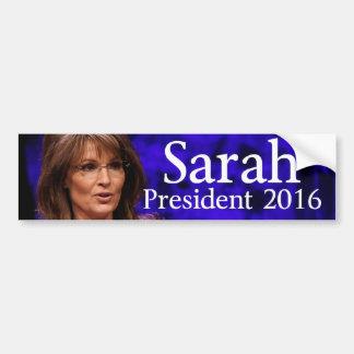 Sarah Palin2016 Etiqueta De Parachoque