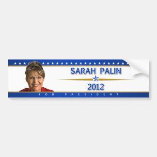 Sarah Palin 2012 bumper sticker Car Bumper Sticker