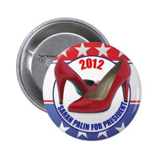 Sarah Palin 2012 Button