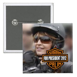 Sarah Palin 2012 Pinback Buttons