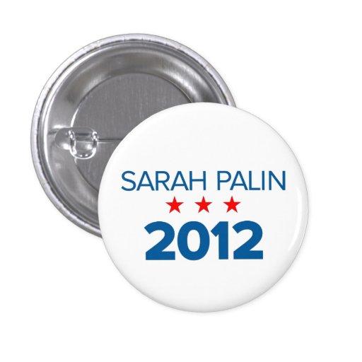 Sarah Palin 2012 Button (Small)