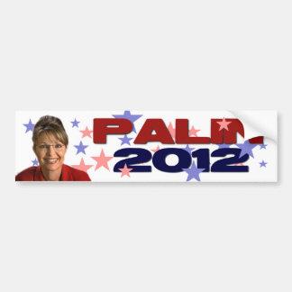Sarah Palin 2012 Pegatina De Parachoque