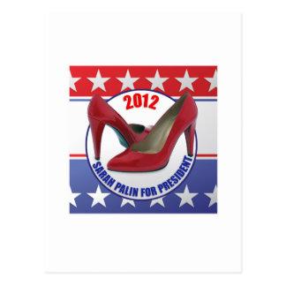 Sarah Palin 2012 - candidato presidencial Tarjetas Postales