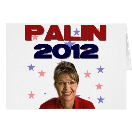 Sarah Palin 2012 Felicitación