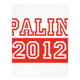 SARAH PALIN 2012 FLYER DESIGN