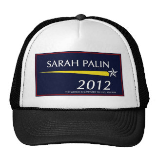 Sarah Palin 2012 Funny Trucker Hat