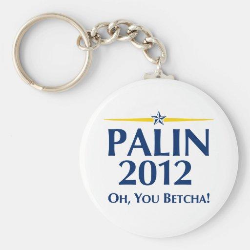 Sarah Palin 2012 Keychains