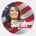 Sarah Palin 2012 Pegatina