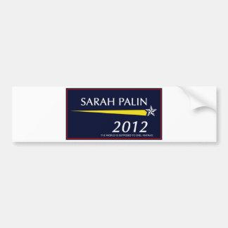 Sarah Palin 2012 Pegatina Para Auto