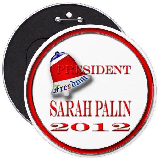 Sarah Palin 2012 Pin