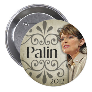 Sarah Palin 2012 Pin Redondo 7 Cm