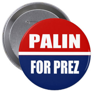SARAH PALIN 2012 PINBACK BUTTON