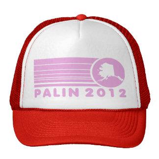Sarah Palin 2012 Pink Retro Trucker Hat