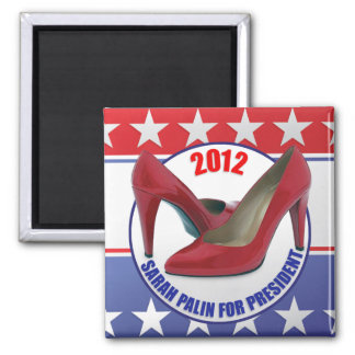 Sarah Palin 2012 - Presidential Candidate 2 Inch Square Magnet
