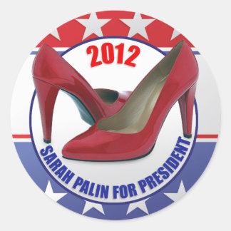 Sarah Palin 2012 - Presidential Candidate Classic Round Sticker