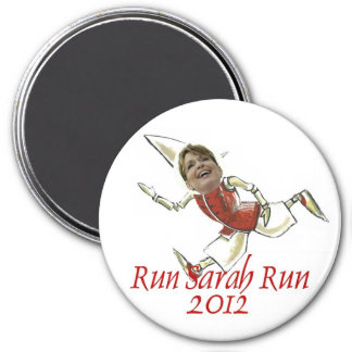 SARAH PALIN 2012 PRESIDENTIAL ELECTION 3 INCH ROUND MAGNET