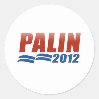 Sarah Palin 2012 Round Sticker
