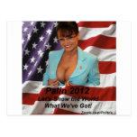 Sarah Palin 2012 Tarjeta Postal
