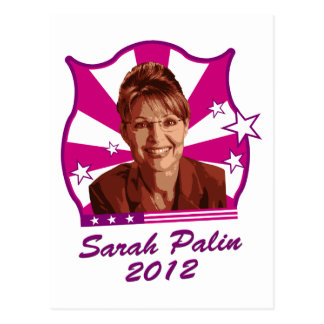 Sarah Palin 2012 Tarjetas Postales