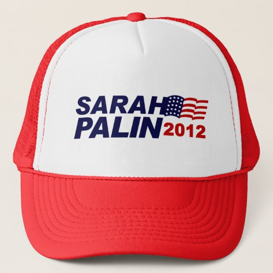 Sarah Palin 2012 Trucker Hat