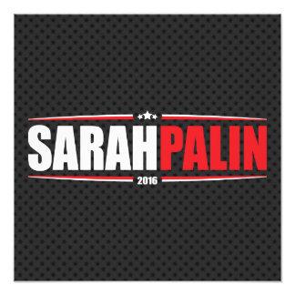 Sarah Palin 2016 (estrellas y rayas - negro) Fotografías