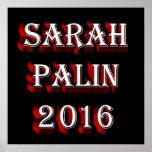 Sarah Palin 2016 Poster
