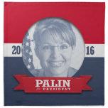 SARAH PALIN 2016 PRINTED NAPKINS