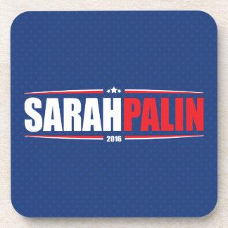 Sarah Palin 2016 (Stars & Stripes - Blue) Coaster