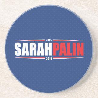 Sarah Palin 2016 (Stars & Stripes - Blue) Coasters