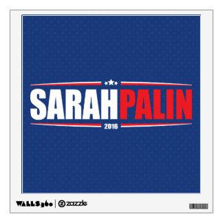 Sarah Palin 2016 (Stars & Stripes - Blue) Wall Decal