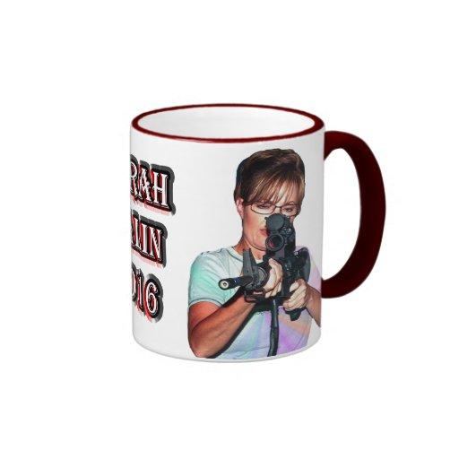 Sarah Palin 2016 Tazas