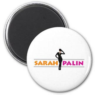 Sarah Palin 2 Inch Round Magnet